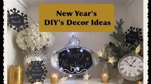 new year s decor easy diy new years decor ideas
