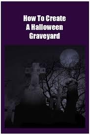 outdoor halloween graveyard decorations
