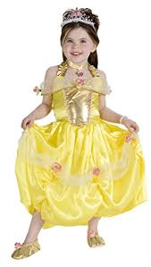 leg avenue disney 2pc princess belle costume dress headpiece