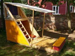 Backyard Swing Plans by 12 Free Playhouse Plans The Kids Will Love