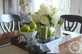 Kitchen Table Centerpiece Attractive Kitchen Table Centerpiece With Kitchen Table Decor