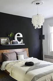 black walls in bedroom pinterest