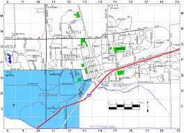 davis map davis
