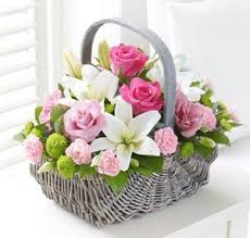 flower basket il qronfla flower basket arrangement il qronfla