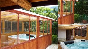veranda chiusa minipiscina idromassaggio nella tua veranda chiusa
