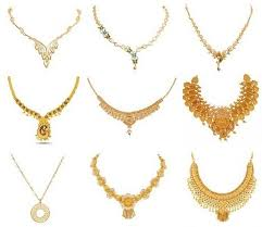 necklace design images Golden necklace clipart jpg
