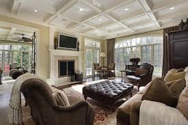 Interior Design Ideas Living Rooms And Family Rooms - Large family room design