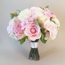 artificial wedding bouquets silk flowers for wedding bouquets annabel artificial roses wedding