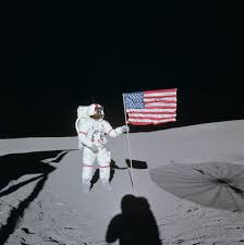 Can You See The Us Flag On The Moon Apollo 14 Wikipedia