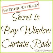 seven cheap ways to crisp up a room bay window curtains bay