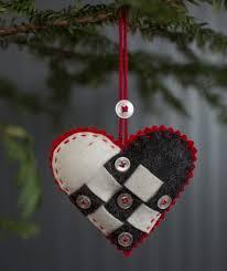 nordic felt ornament kit churchmouse yarns teas
