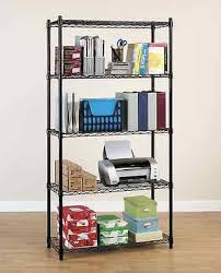 shelves awesome shallow shelving unit metal wire shelves 30 inch
