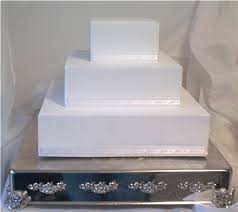 square wedding cakes wedding cakes square or