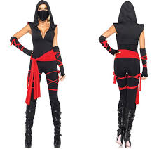 Black Halloween Costumes Girls 25 Female Ninja Costume Ideas Apocalyptic