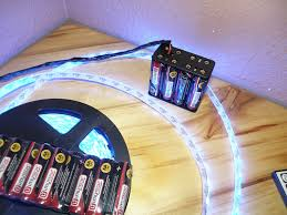 led battery operated strip lights battery pack for led strip light kit powered 5050 3528 waterproof