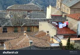 tiled roofs old spanish houses stock photo 23063734 shutterstock