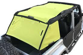 jeep yellow 2017 alien sunshade jeep wrangler shade cage 2007 2017 4 door