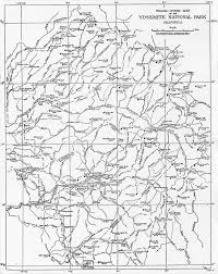 Route 40 Map by Yosemite Historic Maps Yosemite Library Online