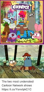 Memes Cartoon Network - chowder the two most underrated cartoon network shows