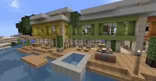 Maison Modern Minecraft by Maison Moderne Avec Piscine Minecraft Gascity For