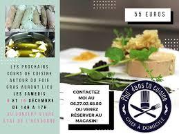 cours de cuisine 06 voilà les dates des prochains cours de cuisine autour du foie gras