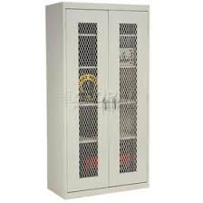 Metal Storage Cabinet With Doors Cabinets Ventilated Cabinets Ventilated Storage Cabinets