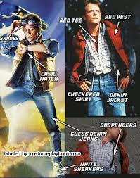 marty mcfly costume dress up as marty mcfly costume playbook ideas