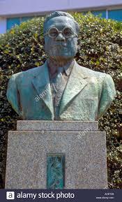 Bronze Bust Of Toyoda Kiichiro The Founder Of Toyota Motor Company