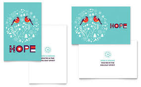 microsoft word greeting card template wblqual com