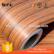 self adhesive wood grain vinyl sheet for cabinet cover engineer