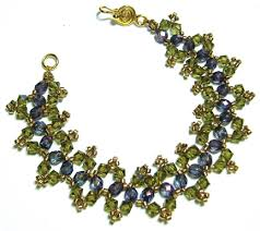 seed bead necklace clasp images Zigzag bracelet jpg