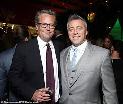 matthew perry and matt leblanc admit they were not invited to