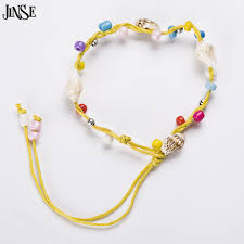bead bracelet styles images Jinse handmade fashion snail shell beads bracelets kid 39 bracelets jpg