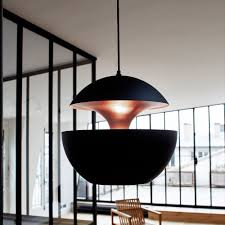 black and copper pendant light dcw editions here comes the sun pendant light black copper pendant