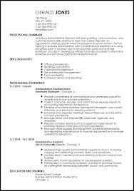 clean modern resume design administrative assistant entry level it resume template vasgroup co