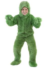 grinch costume child green jumpsuit