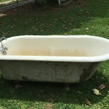 Louisiana Bathtub Best Antique Cast Iron Clawfoot Tub For Sale In Baton Rouge