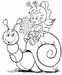 escargot 38 animaux u2013 coloriages à imprimer