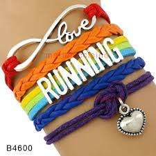 double heart charm bracelet images 10 pcs lot infinity love pride lgbt teacher follow your heart jpg