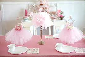 tutu themed baby shower baby shower ideas decorations themes for table