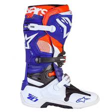 boys motocross boots alpinestars limited edition indianapolis tech 10 motocross mx