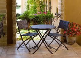 cantina bistro 3 piece folding dining set patio table