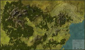 Blank Fantasy Map Generator by Overworld Maps The Cult Of J