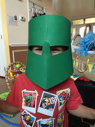 parts and krafts cheap kids diy knight crusader helmet