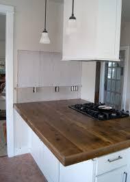 kitchen wood kitchen countertops in fascinating diy reclaimed