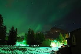 northern lights jasper national park jasper to banff bike tour canada tripsite