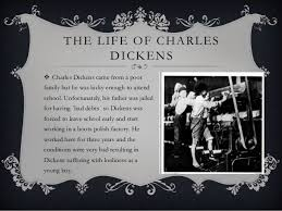 very short biography charles dickens power point charles dickens