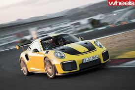 porsche spyder 2018 2018 porsche 911 gt2 rs review wheels