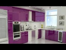 purple kitchen design modern kitchen designs purple colour youtube