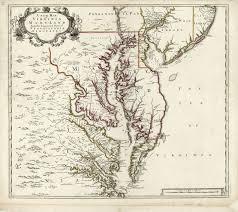 Maryland Map Map Virginia 1700 And Maryland Area Goyen Family Tree
